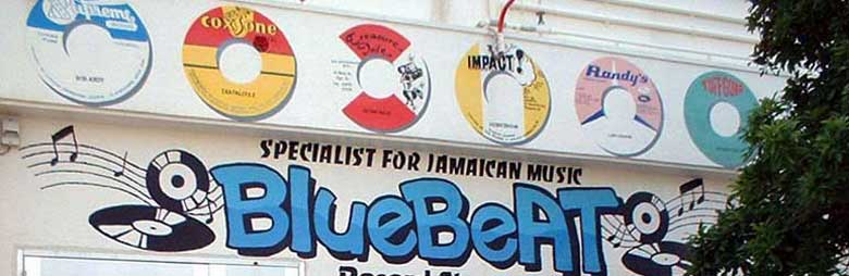 BLUE BEAT RECORD STORE [REGGAE MUSIC STORE] ブルービート Blue Beat 沖縄