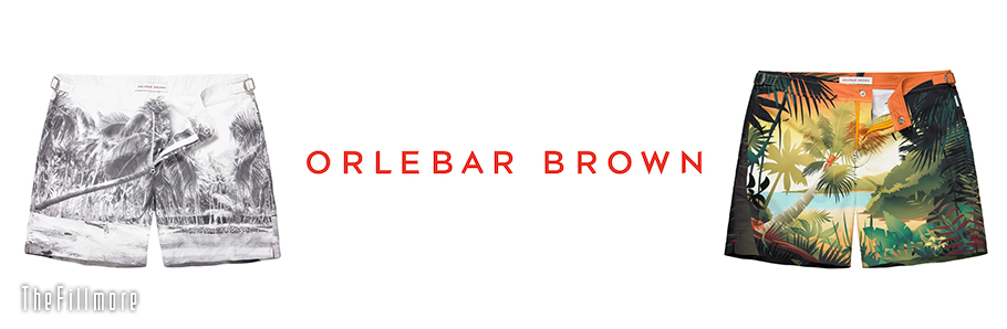 Orlebar Brown Headder(������С��֥饦��)