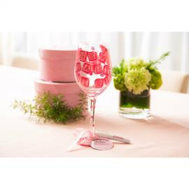 Lolita New Baby Girl Wine Glass