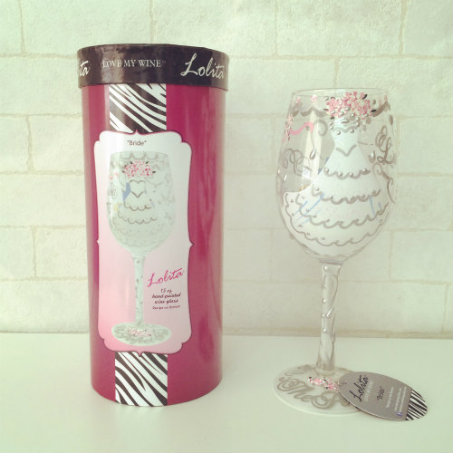 【30%OFF】Lolita Bride Wine Glass