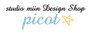 studio miin design shop ☆ picot