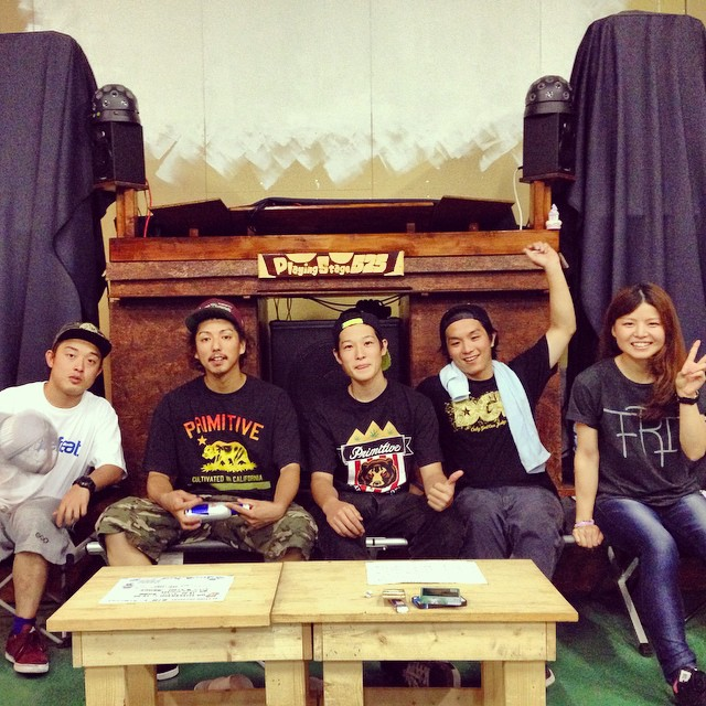 2014/8/22 大分SKATE TRIP @Playing Stage 525