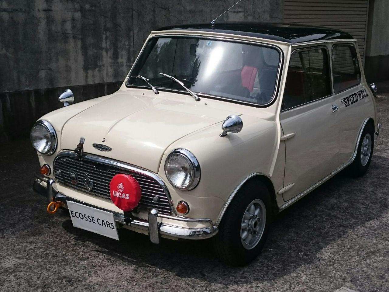 1964 AUSTIN-Cooper-S spec