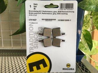 *MAGURA*MT NEXT 4ピストン用 ブレーキパッド #2701627