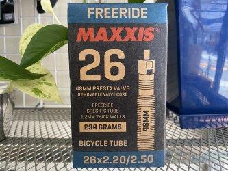 *MAXXIS*フリーライド チューブ 26or27.5 フレンチバルブ