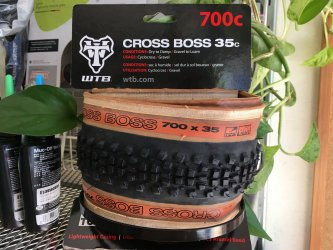 *WTB*CROSS BOSS  クロスボス 700×35c