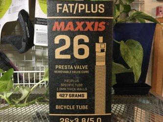 *MAXXIS*FAT/PLUS 26  チューブ