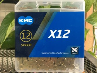 *KMC*X12 Ti-GOLD   12SP用チェーン