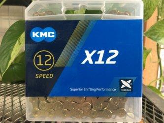 *KMC*X12 Ti-GOLD   12SP用チェーン
