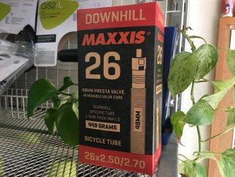 *MAXXIS*ダウンヒルチューブ  26X2.50 / 2.70  48mm