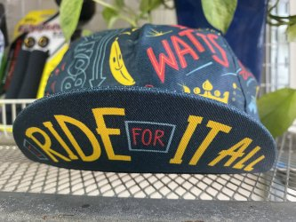 *bello cyclist*サイクルキャップ  I Ride For It All Cycling Cap by Jake Brewer