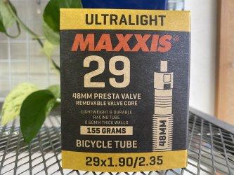 *MAXXIS*ウルトラライト チューブ  29x1.9-2.35  仏式48mm