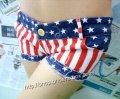 エロセクシー・ホットパンツ・アメリカ国旗風