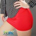 タイトスカート 赤 丈25cm超セクシーピチピチお尻フィット 日本製