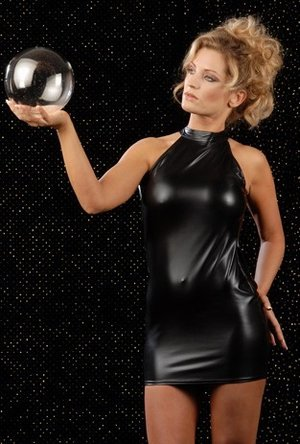 ボディコンシャス 黒 背中見せ袖なしセクシーボディコン 激安通販