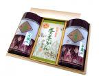 茶ようかん8個入りと川根手摘み煎茶200g缶×2本セット