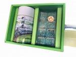 川根茶SL缶200g入りと茶ようかん8個入り ご贈答用お詰め合わせ