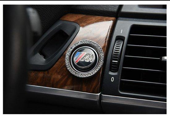 数量限定品  ///M BMW エンジンスタートボタン 高級ラインストーンエンブレム&リング