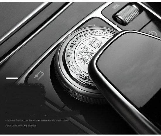 AMG アップル シルバー 49mmコマンドコントロール アルミエンブレム