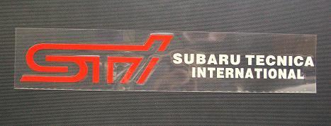 STI   ステッカー 1049