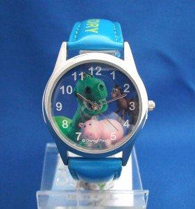 トイストーリーの腕時計レックス、ハム、ブルズアイBL