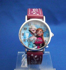 アナと雪の女王-アナとエルサの腕時計pkアナ雪