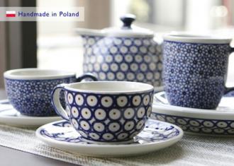 ポーランドの陶器