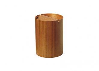 Paperbasket(回転蓋タイプ)/SAITO WOOD