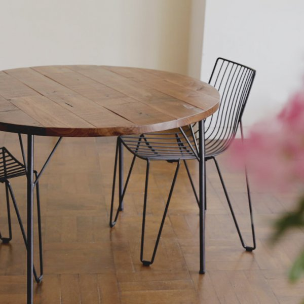 SOLID PANEL TABLE(ソリッドパネルテーブル)/オーク・ウォールナット