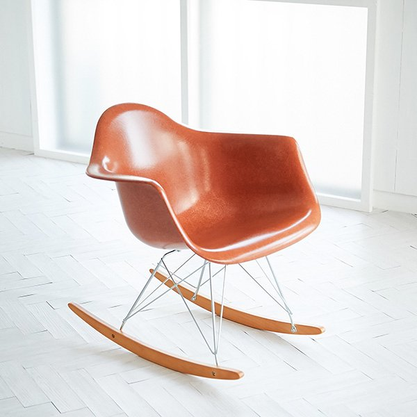 Fiber glass  arm shell chair(ファイバーグラスアームシェルチェア) モダニカ社 Made in USA