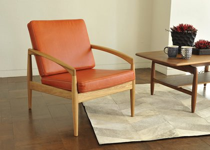 PAPER KNIFE ARM CHAIR LEATHER