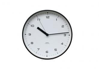 レムノス時計 CASA Urban Clock -Black-
