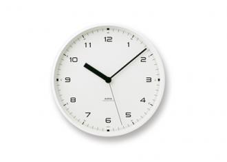レムノス時計 CASA Urban Clock -white-