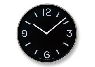 レムノス時計 MONO Clock -Black-