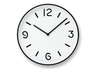 レムノス時計 MONO Clock -White-