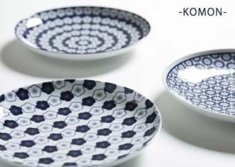 小紋-KOMON- 大皿