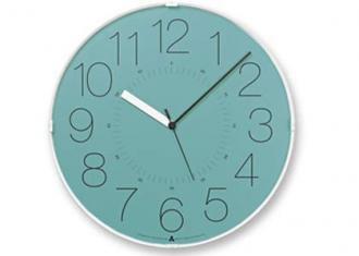 レムノス時計 CARA (電波時計)  ブルー(AWA13-08 BL)
