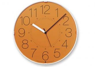 レムノス時計 CARA (電波時計)  オレンジ(AWA13-08 OR)