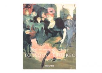 書籍 TOULOUSE LAUTREC - アンリ・ド・トゥールーズ=ロートレックー -