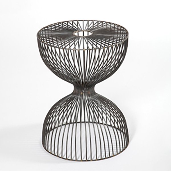 Wire dumbbell stool 【ワイヤーダンベルスツール】<img class='new_mark_img2' src='https://img.shop-pro.jp/img/new/icons50.gif' style='border:none;display:inline;margin:0px;padding:0px;width:auto;' />