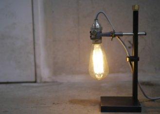 Clamp desk light