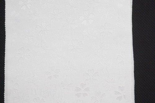 桜地紋 半衿