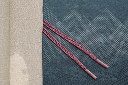 羽織紐 牡丹鼠