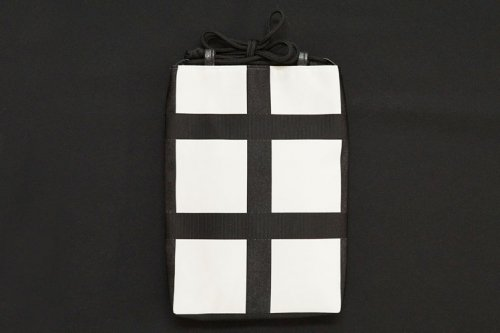 博多織×デニム地 合切袋
