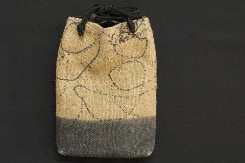 麻織 合切袋