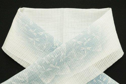 小千谷 藍染 半衿(蜻蛉)