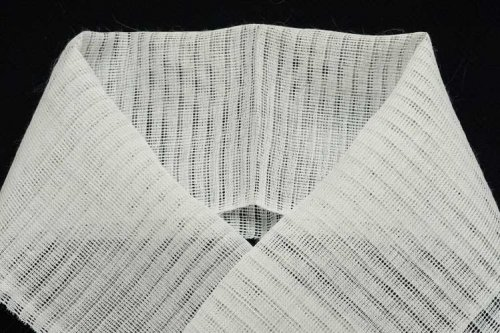 与謝の本麻 半衿 白