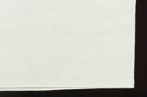 本麻 半衿(乳白色)