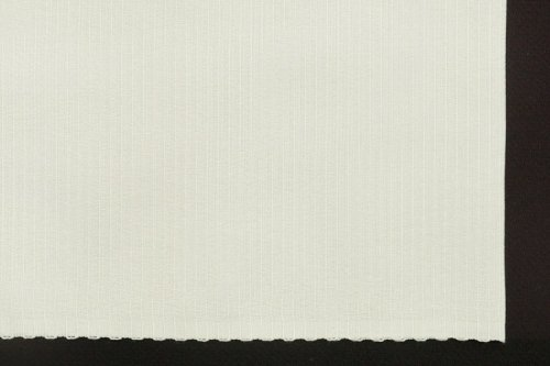 横段変わり織り 半衿(乳白色)