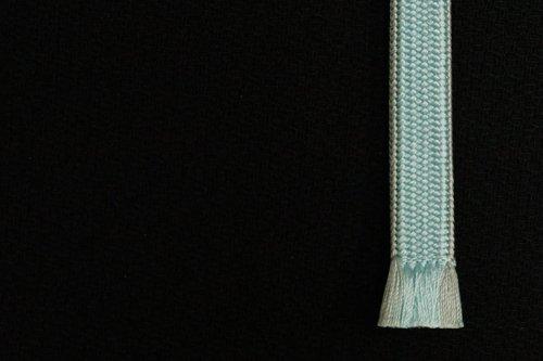 ふっくら 二分紐 帯締め(白縹色)